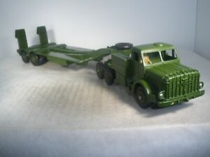 Dinky Toys Military Army Mighty Antar Tank Transporter #660 SUPER CONDITION