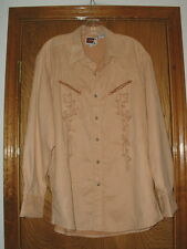 Men's B&D Brooks & Dunn Panhandle Slim Pearlized Snap Front Rodeo Shirt Large