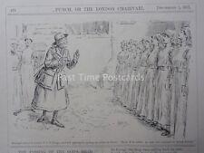 WW1 1917 settembre 5th COLONNELLO recensioni v.a.d CORPS-esercito britannico INFERMIERA PUNCH CARTOON