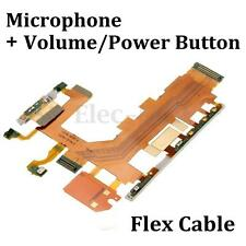 Volume/Power Button & Microphone Flex Cable Parts For Sony Xperia Z2 D6502 D6503