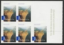 Australia Sc# 2795a, 2796a 2008 Gorges Booklet Panes of 5, Mnh Vf