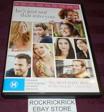 HE'S JUST NOT THAT INTO YOU DVD REGION 4 (B.AFFLECK,J.ANISTON,D.BARRYMORE)