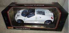 Maisto Special Edition Ford GT90 Concept Car w/ Box & Pamphlet White 1:18 Brand
