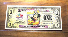 "2009 DISNEY DOLLAR - $1. Mint Condition - MICKEY - Celebrate ""D"" Series"