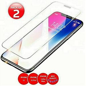 New Tempered Glass Screen Protector Gorilla Tiger iPhone 11,11 Pro,11 Pro Max