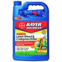 Bayer Advanced 704130 All-in-One Lawn Weed and Crabgrass Killer 1 gal