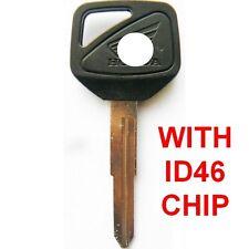 Honda Motorcycle Motorbike HISS CBR 600 F4i 929 954 1100XX Key Blank + CHIP ID46