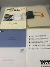Psion Series 3 Spreadsheet Ssd Plus Box And User Guide