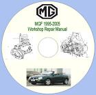 MGF 1995-2005 Workshop Repair Manual