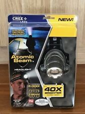ATOMIC BEAM HEADLIGHT-(For x1) Original As Seen On TV With FREE Postage