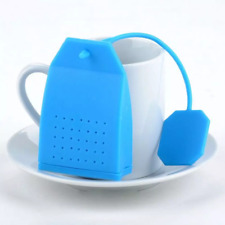 Bola con Té silicona con forma de bolsita de Té (opaco) - Azul