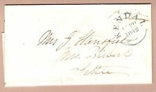 GB 1842 Bill of Sale addressed to Settle from Kendal - Nice cds