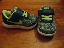 4228dc625c5be new toddler boys nike flex contact (TDV) size 5c blue force lime blast