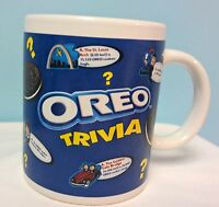Oreo Cookie Coffee Cup Mug Trivia Novelty Nabisco