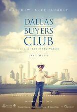 Dallas Buyers Club (2013) Movie Poster (24x36) - Matthew McConaughey, Jared Leto