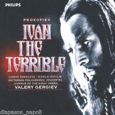 Prokofiev: Ivan The Terrible (Ivan Il Terribile) / Gergiev, Sokolova, Putilin CD