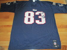 Reebok NFL Players DEION BRANCH No. 83 NEW ENGLAND PATRIOTS (XL) Jersey