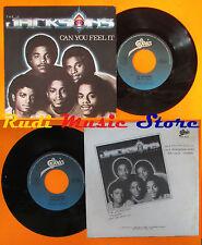 LP 45 7'THE JACKSONS Can you feel it Wondering who1980 MICHAEL JACKSON cd mc dvd