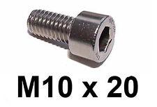 M10 x 20 Stainless Allen Bolt Socket Capscrews 10mm x 20mm Stainless Cap x5