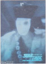 STAR TREK 1997 SKYBOX THE NEXT GENERATION SEASON 6 H12 HOLOGRAM INSERT Q RARE