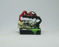 Venom symbiote ut from bottle zombie Spider Man Marvel Handmade glow in the dark