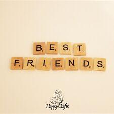 Lettre en bois aimant mot best friends