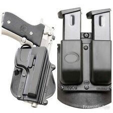 Beretta Paddle Holster Combo Pack For 92/96/Cz 75B .40 Handgun Or Airsoft