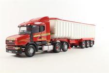 Corgi Modern Truck Heavy Haulage CC12808 Scania T Cab Tipper John Toulson 1/50