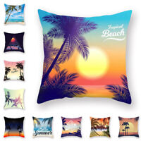 """1Pc 18"""" Pillow Case Cushion Cover Throw Pillow Home Office Car Decoration"""