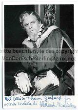 OPER: Alessandro MADDALENA - Handsigniert & gewidmet  OriginalFoto FLASH BERGAMO