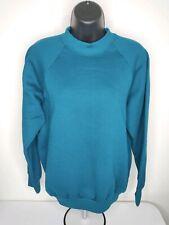 Vtg 80s 90s Fruit Of The Loom Casual Wear Sweatshirt Crewneck Women M Hype Blank