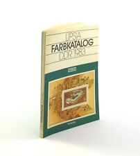 Lipsia Farbkatalog DDR 1983. Transpress