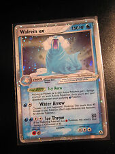 PL Pokemon WALREIN EX Card LEGEND MAKER Set 89/92 Ultra Rare Holo TCG 150 HP