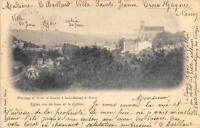 CPA 54 PELERINAGE DE N.D.DE LOURDES A ST MANSUY DE NANCY EGLISE VU DU HAUT DE LA