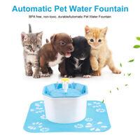 1.6L Automatic Dog Cat Electric Water Fountain USB Pet Bowl Drinking Filt,XJ_ec