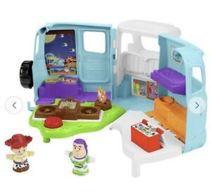 Fisher-Price Little People Disney Toy Story 4 Jessie's RV For Age 2+ New