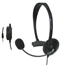 Wired Headset Headphone Earphone With Microphone For Sony PlayStation 4 PS4 Game