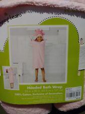 BRAND NEW Kids Girls Hooded Princess Bath Wrap Beach Towel 27 X 54 Jumping Beans