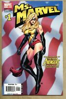 Ms. Marvel #1-2006-nm- 9.2 Frank Cho Standard cover Ms Marvel