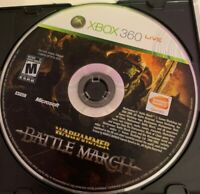Warhammer: Battle March (Microsoft Xbox 360) DISC ONLY
