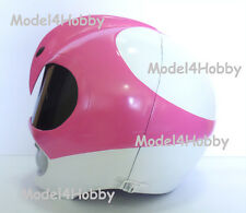 "Outside Cliplock! Cosplay! Mighty Morphin Power Rangers ""PINK"" 1/1 Scale Helmet"
