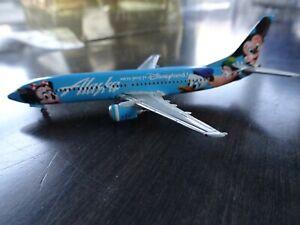 Gemini Jets, Alaska Boeing 737-400, Disneyland Model Plane, 1:400, Rare, N784AS