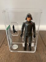 STAR WARS AT AT COMMANDER AFA 80+ KENNER VINTAGE 1980 ESB ECHO BASE HOTH VADER