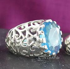 Markenlose echtem Edelmetall-Ringe ohne Steine aus 18,1 mm (Damen) Ø 57