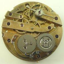 Antique 31.9mm High-Grade Swiss Pocket Watch Movement - Wolf-Tooth Winding !