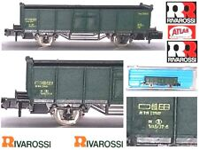 RIVAROSSI ATLAS 2460 CARRO MERCI OPER CAR TRASPORTO MINERALI SNCB BOX SCALA-N