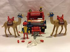 Vintage Playmobil Geobra 3452 Circus Truck with Camels Car Dromedary Complete