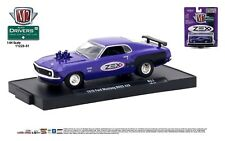 1:64 M2 Machines DRIVERS R51 *ZEX* Purple 1970 Ford Mustang BOSS 429 *NIP*