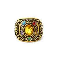 Avengers Cosplay Ring Mavel The Infinity War Gift THANOS Infinity Gauntlet POWER