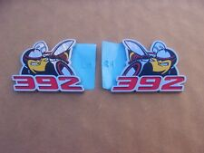 GENUINE MoPar 2011-19 Challenger Charger Scat Pack 392 Bee Emblem Ornament PAIR